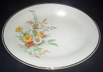 Knowles Garden Bouquet Platter