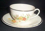 Knowles Garden Bouquet Cup And Saucer