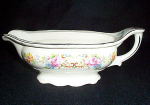 Knowles Floral Gravy Boat