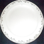 Knowles Hostess Gold Filigree Dinner Plate