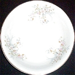 Knowles Pink White Floral Soup Bowl