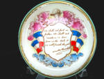 C.1941 Paragon Patriotic Dish Winston Churchill Quotation