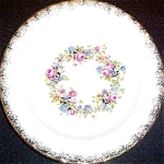 Knowles Flower Ring Salad Plate