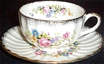 Knowles Flower Ring Cup And Saucer