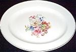 Knowles Rose Floral Platter