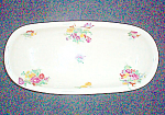 Scammell Dresden Floral Celery Dish