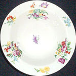 Scammell Dresden Floral Cereal Bowl