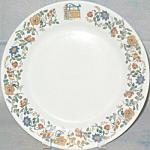 American Hotels Dinner Plate