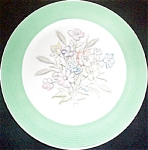 American Limoges Oslo Green Luncheon Plate
