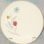 American Limoges Starflower Bread Plate