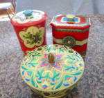 Three Vintage Tins