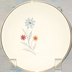 American Limoges Starflower Fruit Bowl