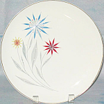 American Limoges Starflower Dinner Plate