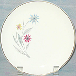 American Limoges Starflower Salad Plate