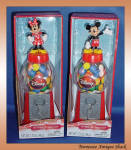 Disney Mickey And Minnie Mouse Gumball Dispenser Set