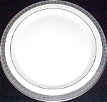 Mayer Scallop Border Serving Plate