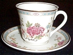 Mayer Oriental Floral Cup And Saucer