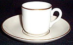 Ridgewells Demitasse Cup And Saucer