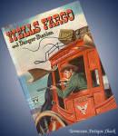 1958 Wells Fargo And Danger Station Vintage Whitman Hb