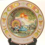 Heinrich Katharina Limited Edition Plate - Aura And Earthly Laments