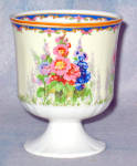 Alfred Meakin Hollyhock Coddled Egg Or Custard Cup