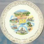Connecticut Souvenir Plate