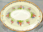 Alfred Meakin Hollyhock Oval Serving Bowl