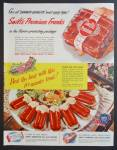 Swift's Premium Frankfurters Franks Meat Ad - 1948
