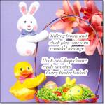Recordable Easter Friends - Bunny