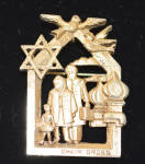 "Pin Judaica ""chaim Gross"""