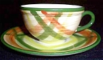 Vernon Kilns Tam O'shanter Cup And Saucer