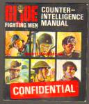 Gi Joe Vintage Hasbro Counter Intelligence Manual 1966
