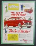 Ford Automobile Car Ad
