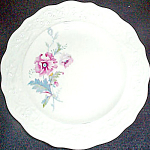 Mount Clemens Vogue Poppy Bread Plate