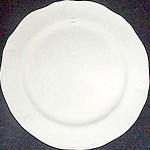 Mount Clemens White Petalware Dessert Plate