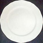 Mount Clemens White Petalware Bread Plate