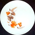 Mt. Clemens Fall Leaves Dinner Plate