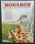 Monarch Food Distributors Ad - 1948