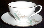 Noritake Oriental Cup And Saucer