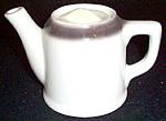 Mcnicol Sexton Gray Rim Teapot