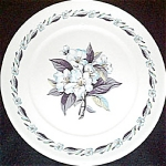 Pope Gosser Blue Azalea Dinner Plate