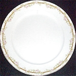 Pope Gosser Julia Pink Rose Dinner Plate