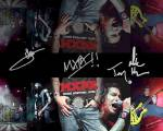 Mxpx Collage Autographed Signed Photo