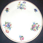 Scammell Dresden Floral Salad Plate