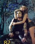 Dave Navarro Carmen Electra Autographed Signed Photo