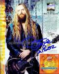 Zakk Wylde Autographed Signed Photo