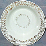 Royal Gold Filigree Soup Bowl