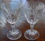 Crystal Sherry, Liquer Glass Made In France