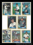 Detroit Tigers 1987 Topps Baseball Cards 8 Pc