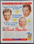 Bisquick Ad With Fred Macmurray, Ray Milland, Lynne Overman